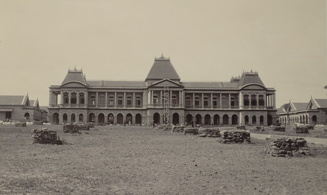 Victoria Jubilee Hospital, Bangalore taken in the 1890s