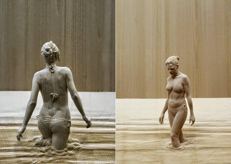 Wood Sculptures by Peter Demetz 1