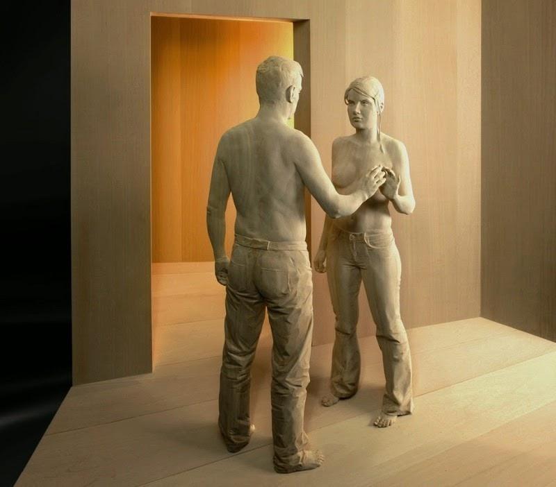 Wood Sculptures by Peter Demetz 11