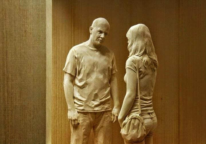 Wood Sculptures by Peter Demetz 16