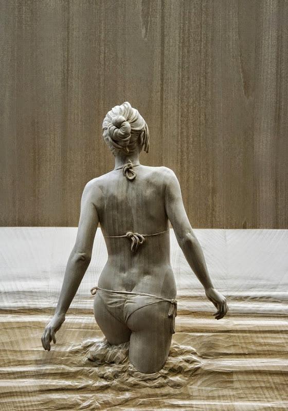 Wood Sculptures by Peter Demetz 2