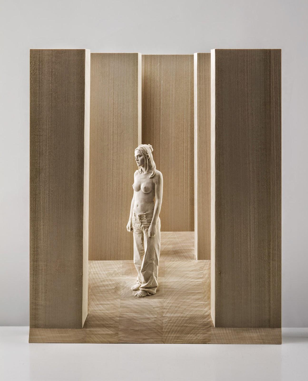Wood Sculptures by Peter Demetz 24