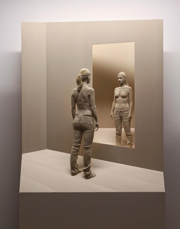 Wood Sculptures by Peter Demetz 5