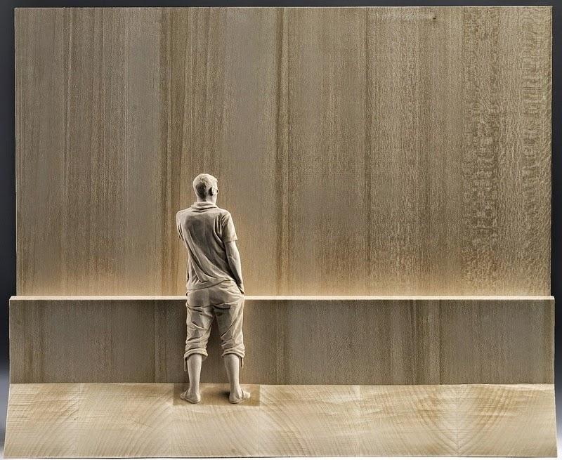 Wood Sculptures by Peter Demetz 9