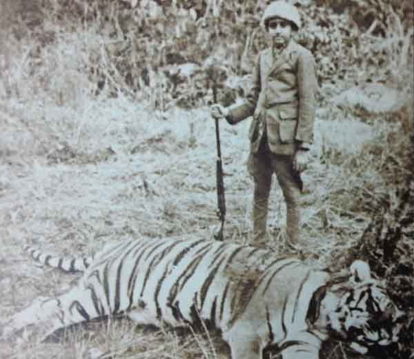 Yeshwant rao holker killed Tiger