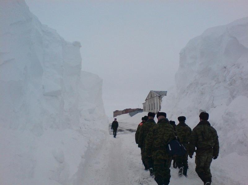 russian soldiers novaia zemlya 1