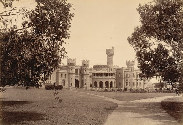 side View of Maharaja's Palace 1894