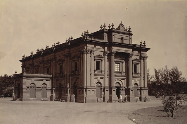 the Government Museum, Bangalore taken in the 1890s