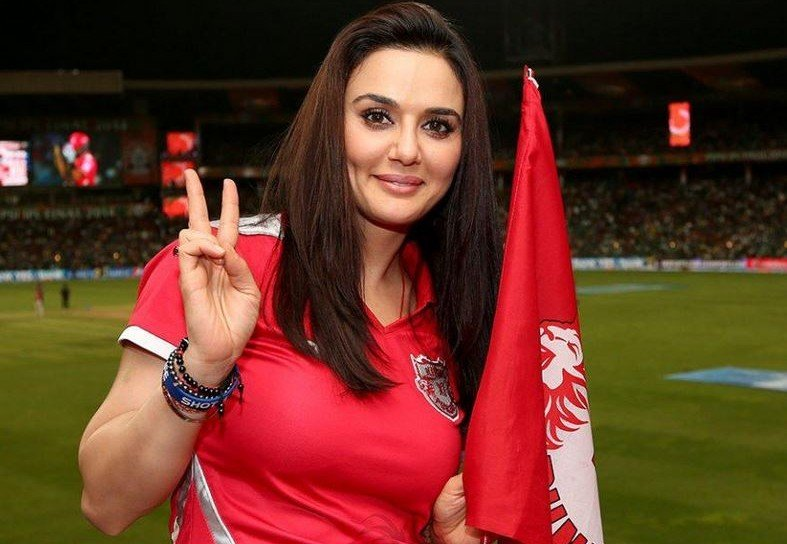 Preity Zinta Hot Ipl Cricket