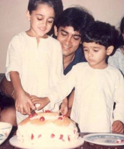 Imran Khan childhood photos, Bollywood Celebs, Childhood Stars, Unseen childhood pictures, Rare Pics Of Bollywood Celebrities