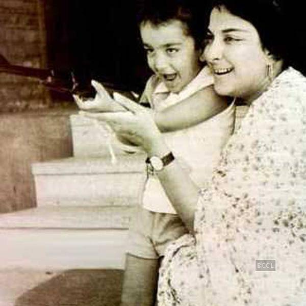 Sanjay Dutt childhood photos, Bollywood Celebs, Childhood Stars, Unseen childhood pictures, Rare Pics Of Bollywood Celebrities