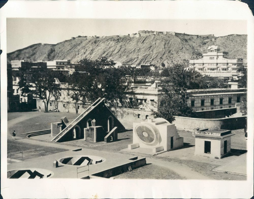 Astronomical Observatory At Jaipur - 1931