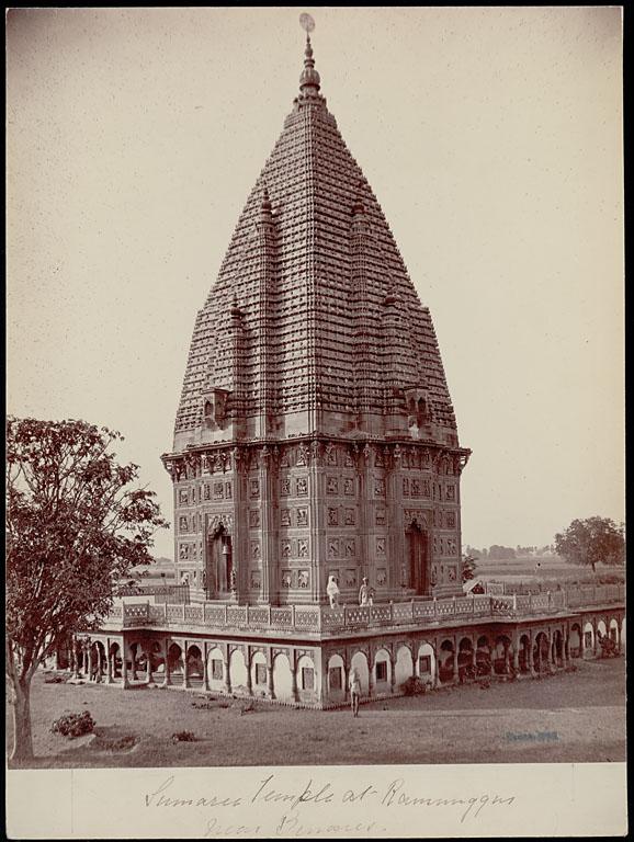 Durga Mandir in Ramnagar in Varanasi - Samuel Bourne 1863