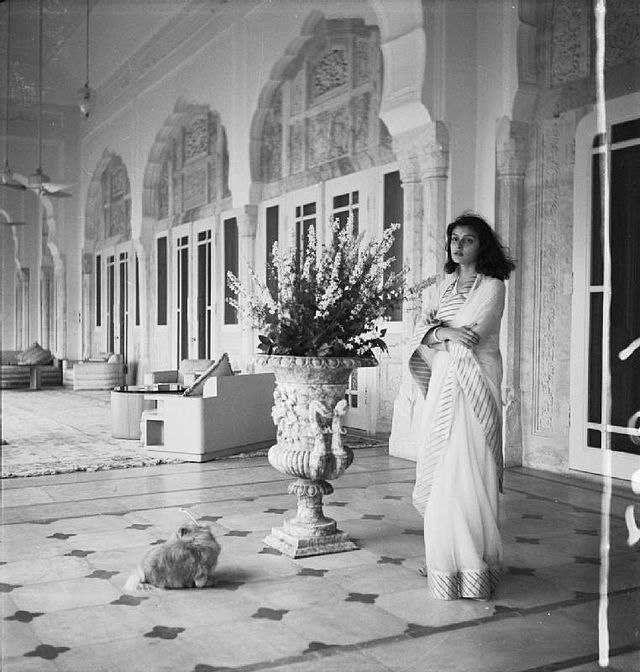 Gayatri Devi pictured by Cecil Beaton in 1940