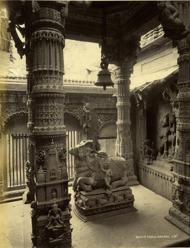 Gosain TAmple , Benares 1873