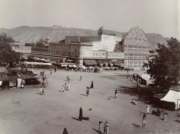 Hawa Mahal Taken In Year 1905