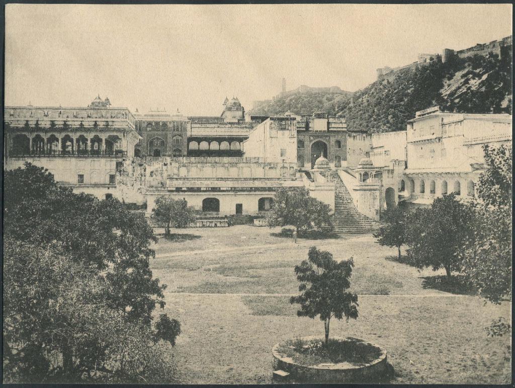 Jaipur Palace, 1910