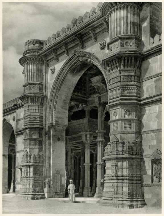 Jama Masjid, Ahmedabad, Gujarat - India 1928