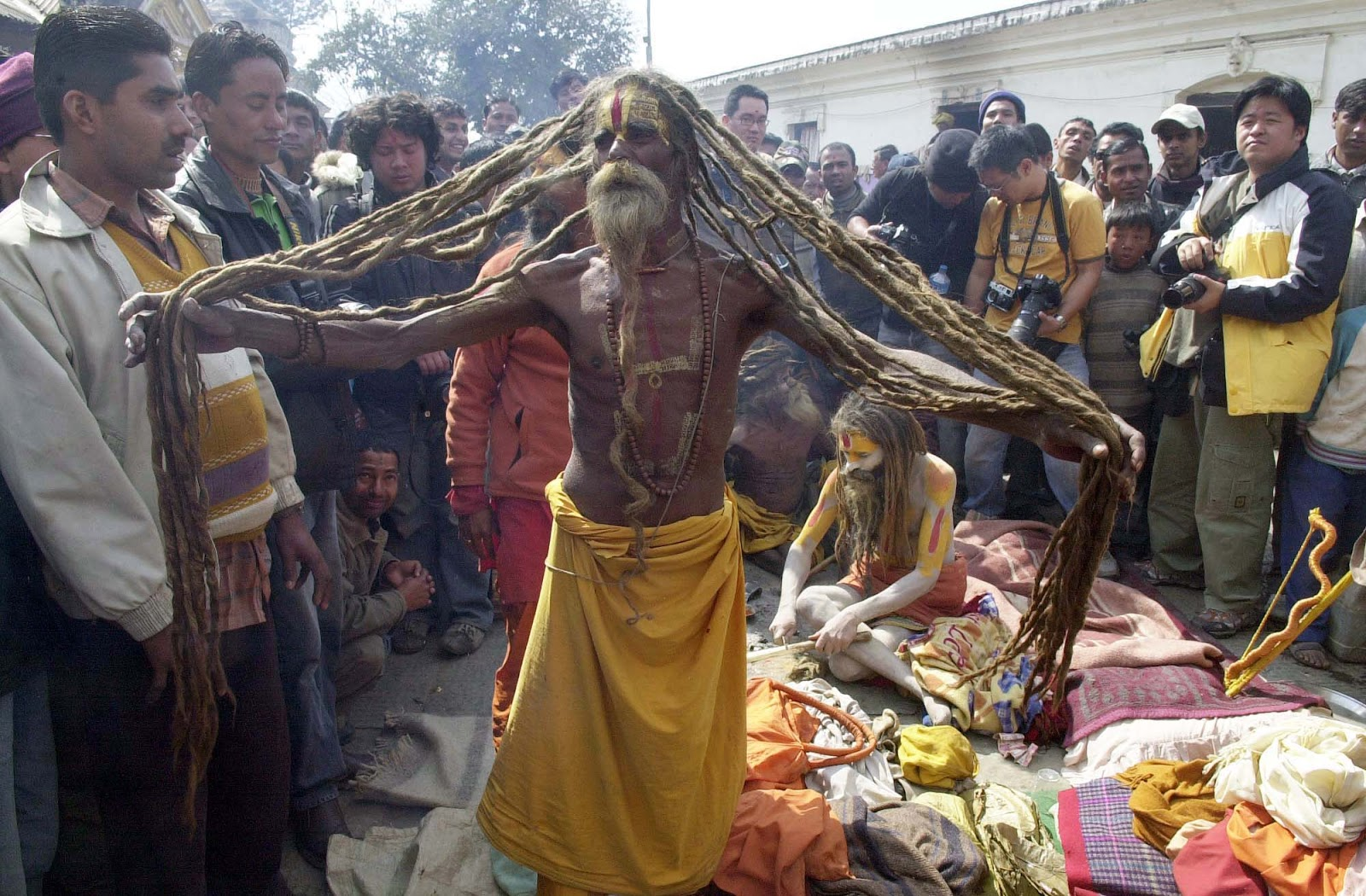 Mystic Life Photo Facts About Sadhus Holy Men Of