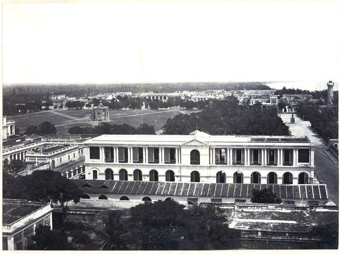 Police Head Quarters (Old Photo) in Pondicherry