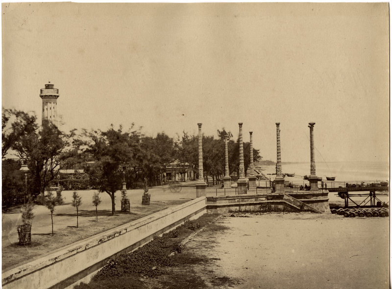 Waterfront View of Pondicherry - c1880's