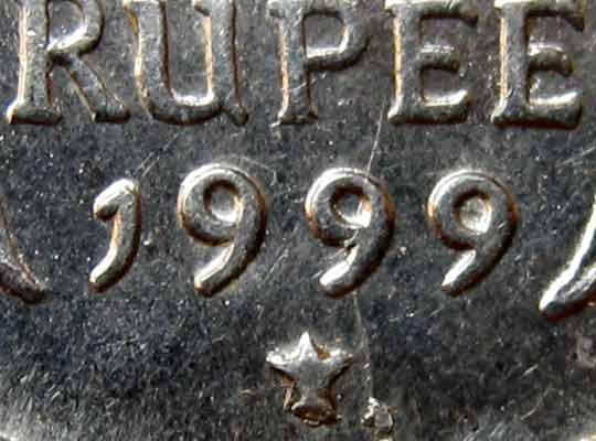 rupee mint mark
