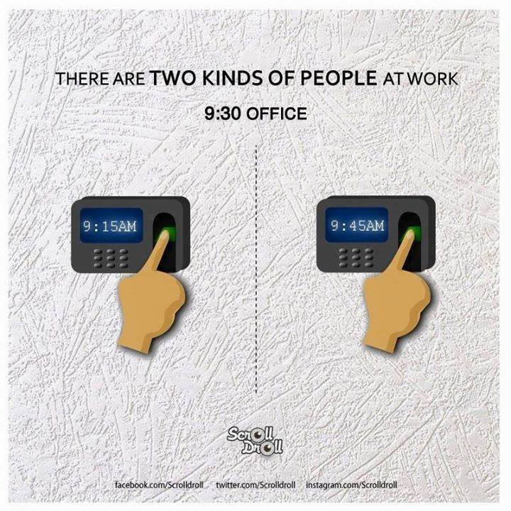 two kinds of people at work 10