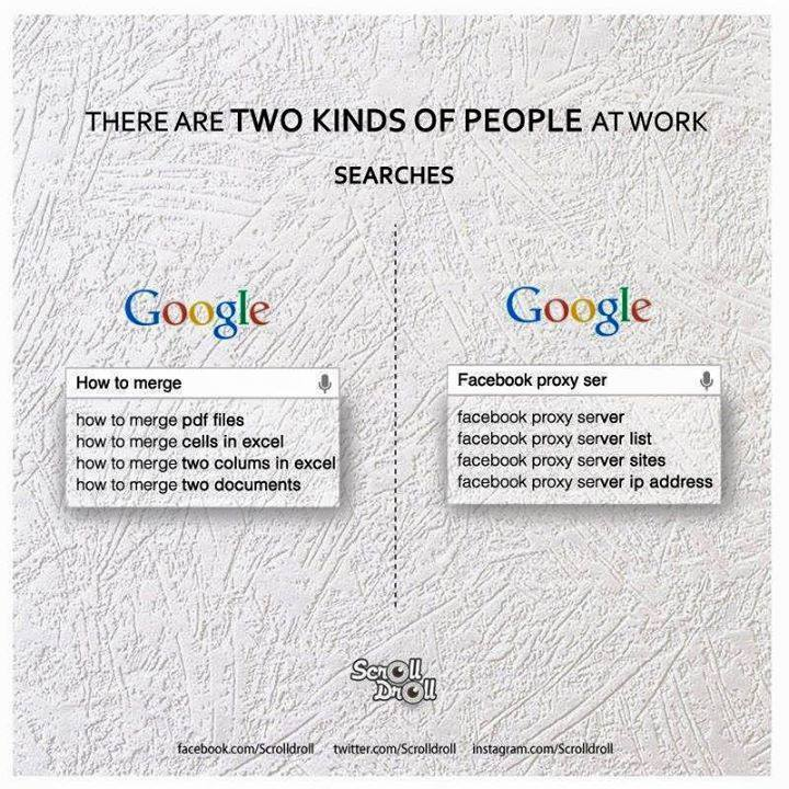 two kinds of people at work 2