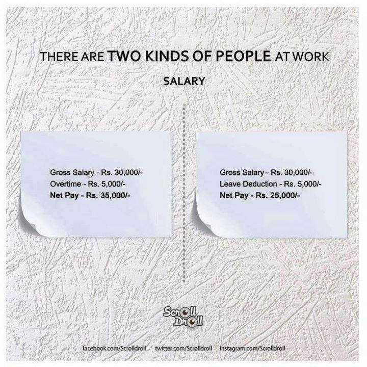 two kinds of people at work 4