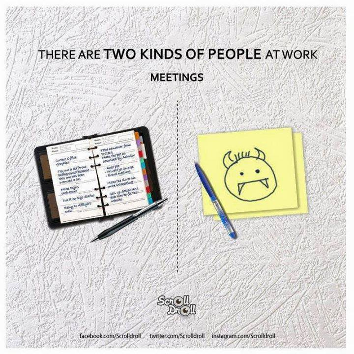 two kinds of people at work 5