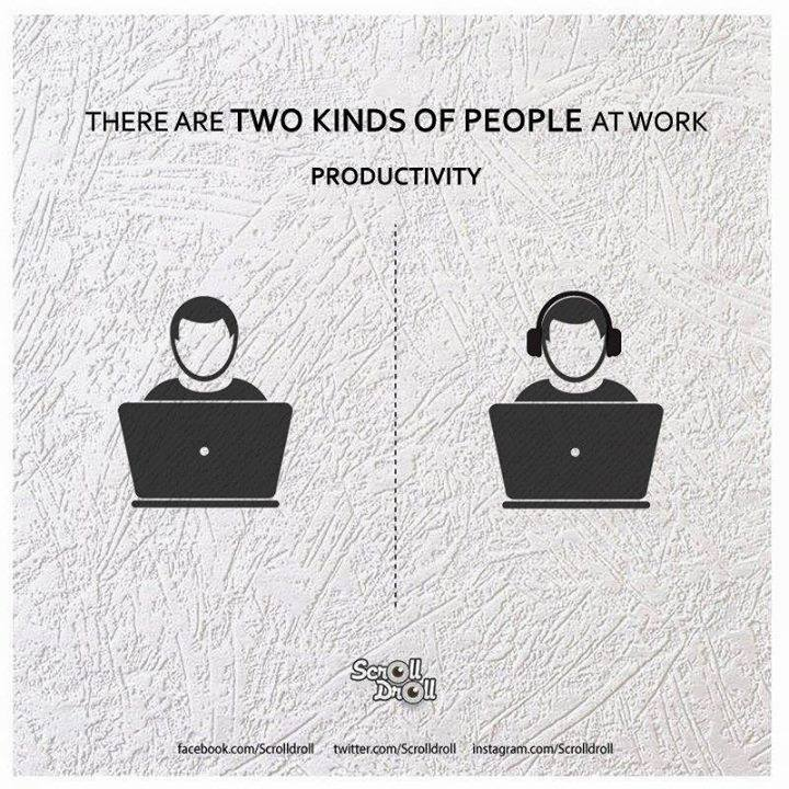 two kinds of people at work 6