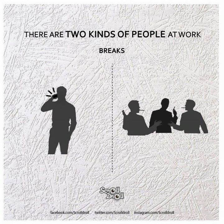 two kinds of people at work 7