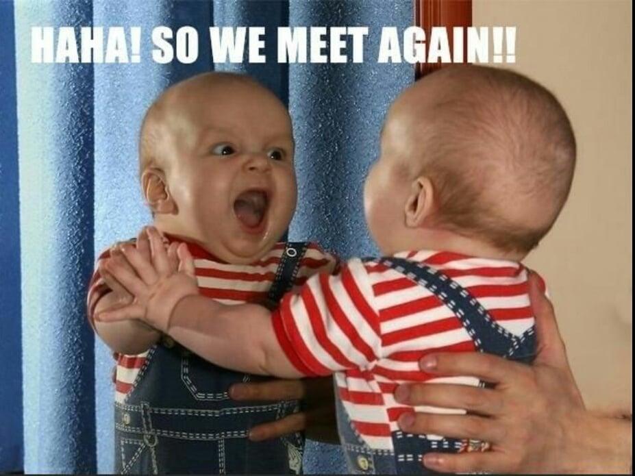 20 Hilarious, Funny, Cute Baby Meme On Internet | Reckon Talk