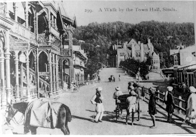 A Walk by the Town Hall