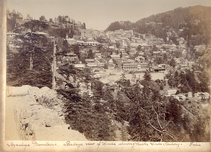 An overview photo from c.1900