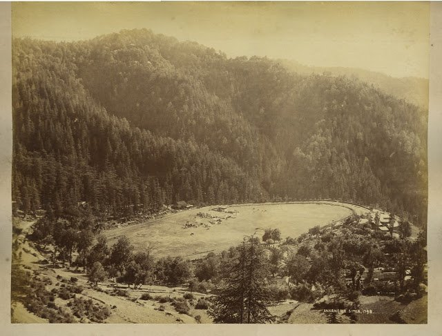 Annandale Playground at Simla 1890's