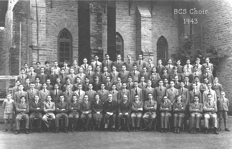 Bishop Cotton school Choir-1944