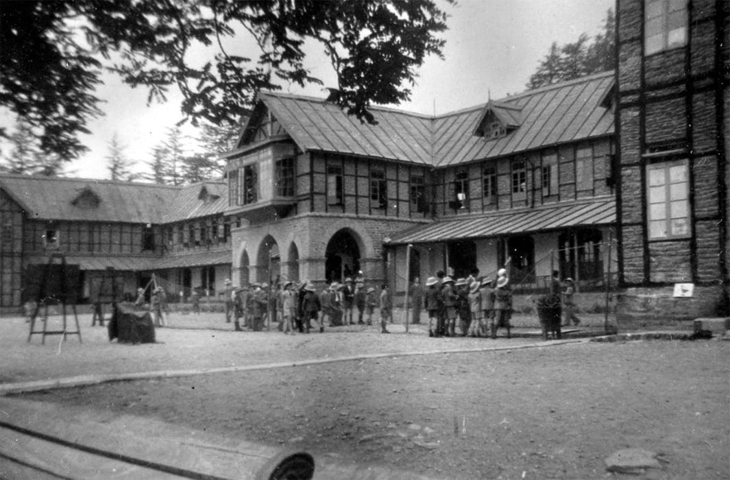 Bishop Cotton school_1944