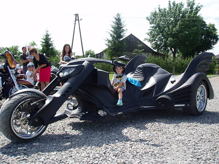 Batman, Batman motorcycle, Batman auto, Batmobile, motorcycles, most stylish motorcycles, Game Over Cycles, polish motorcycles, motorbike, bike, cool bike, viral, omg, awesome, superhero, movie
