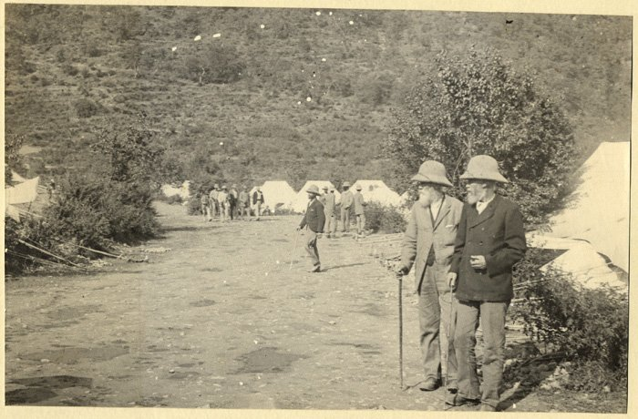 Officers Tent in Shimla