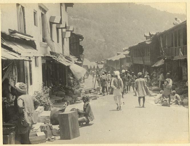 Shimla bazaar_1890s