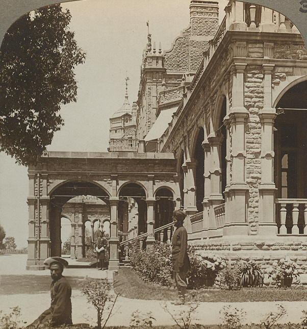 South front of Viceregal Lodge, Palace of the Viceroy, at Simla the summer capital of India,c.1903