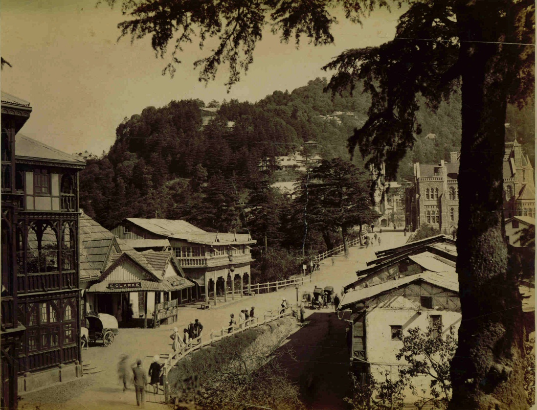The Mall, an albumen photo, c.1880's