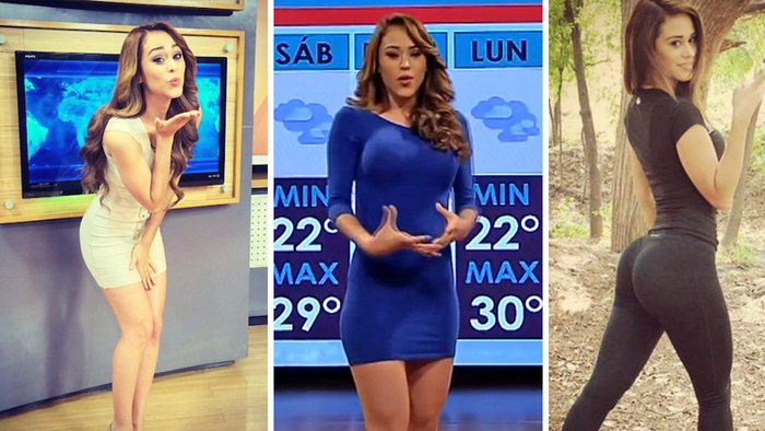 Garcia Mexico  City new picture : Garcia: Sexiest Weather Reporter Girl | Hot News Anchor in Mexico ...