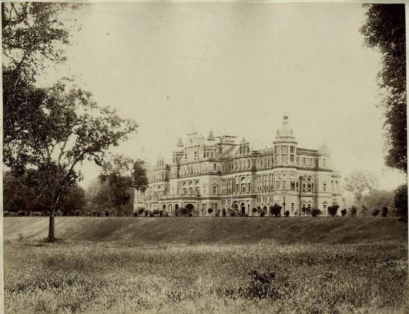a view of the Viceregal Lodge_1880s