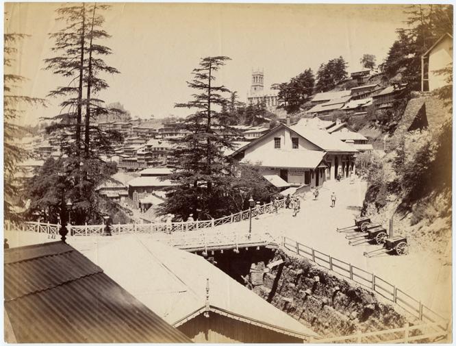 simla During 1890s