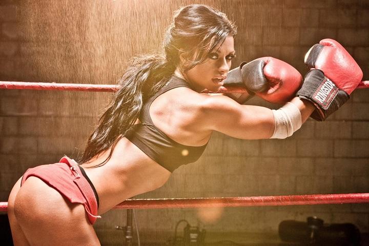 Female martial artist 12