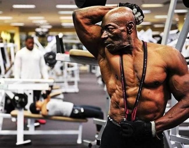 World's oldest bodybuilder, Bodybuilders, fitness, life, bodybuilding, age, older, Incredible, exercise, omg, inspiration, inspire, old age fitness, fitness for seniors, exercise for older people