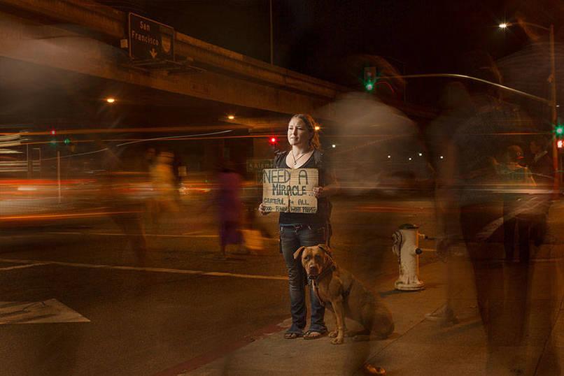 portraits, homeless, Underexposed, photographer, Aaron Draper, photography, Amazing, OMG, California, USA, Homeless Peoples photos, Creative, Fotografía, Фото, viral