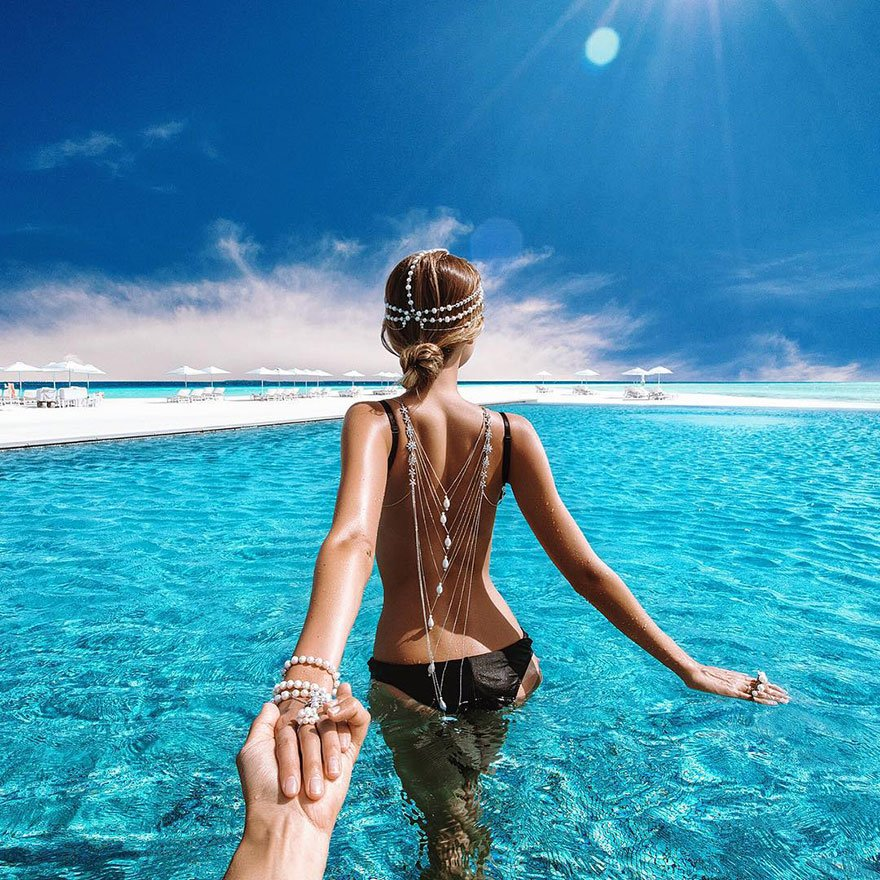 photography, photos, pics, images, honeymoon, famous, couple, photographer, love, followme, followmw couple, love birds, Murad and Natalia Osmann, Maldives Islands, las vegas, world, tour, visit, travel, sea, beach, maldi